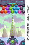 bubbles shooter game screen ...