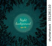vector night background with... | Shutterstock .eps vector #331281110