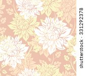 seamless beautiful flowers... | Shutterstock .eps vector #331292378