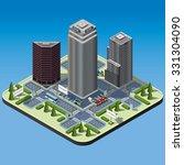 modern illustration of an... | Shutterstock .eps vector #331304090