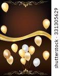 elegant celebration background... | Shutterstock .eps vector #331305629