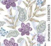 Floral Seamless Pattern. Desig...