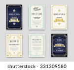 set of great quality style... | Shutterstock .eps vector #331309580