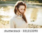 portrait of a young funny happy ...   Shutterstock . vector #331313390
