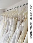 white and cream colored bridal... | Shutterstock . vector #331314554