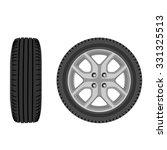 raster illustration of car... | Shutterstock . vector #331325513