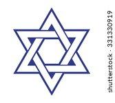 star of david . vector...   Shutterstock .eps vector #331330919