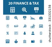 finance  tax icons | Shutterstock .eps vector #331332158
