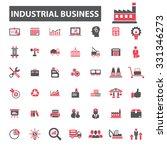 industrial business  management ... | Shutterstock .eps vector #331346273