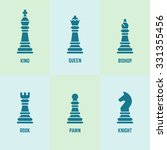 Chess Pieces With Named Vector...