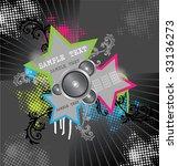 star background   Shutterstock .eps vector #33136273