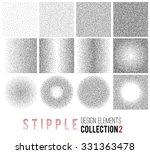 vector set of black and white...   Shutterstock .eps vector #331363478