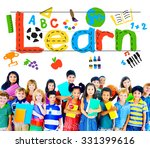 learn learning study knowledge... | Shutterstock . vector #331399616