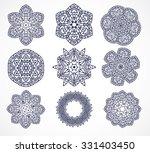 mandalas. vintage decorative... | Shutterstock .eps vector #331403450