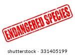 endangered species red stamp...   Shutterstock .eps vector #331405199
