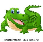 illustration of cute crocodile   Shutterstock .eps vector #331406870