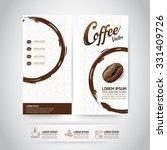 coffee bean vector template | Shutterstock .eps vector #331409726