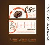 coffee bean vector template | Shutterstock .eps vector #331409738