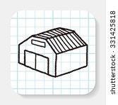 doodle house   Shutterstock .eps vector #331425818