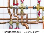 Heating System's Cooper Pipes...