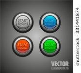 start engine | Shutterstock .eps vector #331441874
