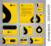 corporate identity branding... | Shutterstock .eps vector #331442429