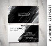 dark black watercolor business... | Shutterstock .eps vector #331443359