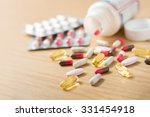 Colorful Tablets And Dietary...