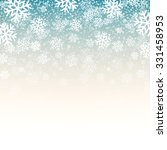 blue background with snowflakes....   Shutterstock .eps vector #331458953