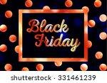 black friday calligraphic... | Shutterstock .eps vector #331461239