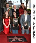 Small photo of LOS ANGELES - MAR 1 - Michael Sheen, David Rowe-Beddoe, Charlotte Ritchie, Maria arrives at the Richard Burton Honored Posthumously With Star Ceremony on March 1, 2013 in Los Angeles, CA