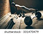 fitness | Shutterstock . vector #331470479