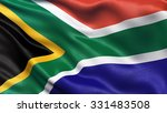 highly detailed flag of south... | Shutterstock . vector #331483508