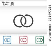 arrow vector icon | Shutterstock .eps vector #331497296