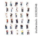united company people diversity  | Shutterstock . vector #331502948