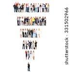 office culture workforce... | Shutterstock . vector #331502966