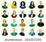 diverse people multi ethnic... | Shutterstock . vector #331507250