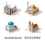 vector isometric icon set or... | Shutterstock .eps vector #331515983