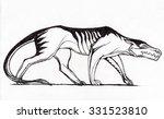 prehistoric animal | Shutterstock . vector #331523810
