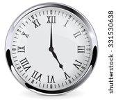 clock with roman numbers.... | Shutterstock . vector #331530638