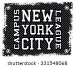 new york city t shirt design ... | Shutterstock .eps vector #331548068