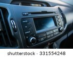 car audio system front panel | Shutterstock . vector #331554248