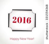 vector illustration. happy new... | Shutterstock .eps vector #331554368