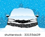 vector illustration. car under... | Shutterstock .eps vector #331556639
