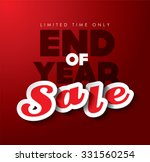 end of year sale   Shutterstock .eps vector #331560254