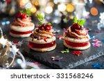 festive appetizer with foie... | Shutterstock . vector #331568246