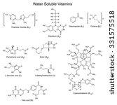 chemical formulas of... | Shutterstock .eps vector #331575518