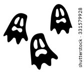 collection set of halloween... | Shutterstock .eps vector #331579928