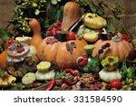 Background Autumn Harvest...
