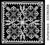 traditional oriental carpet in...   Shutterstock .eps vector #331586306